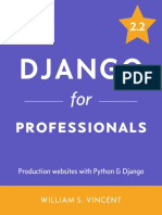 William S. Vincent - Django for Professionals_ Production Websites With Python & Django (2019)