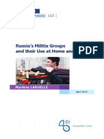 Russia's Militia Groups and their Use at Home and Abroad