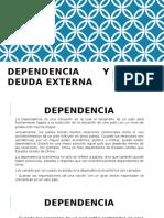 Dependencia y deuda externa