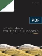 David Sobel, Peter Vallentyne, Steven Wall - Oxford Studies in Political Philosophy, Volume 1-Oxford University Press (2015).pdf