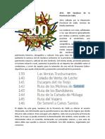 2011. 300 Senderos de la Provincia de Cádiz.