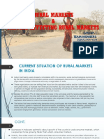 Rural Markets and Factors affecting rural Markets