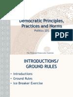 Democratic Principles