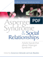 Genevieve Edmonds - Asperger Syndrome And Social Relationships