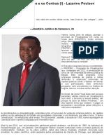 Privatizações, os Prós e os Contras (I) - Lazarino Poulson - CLUB-K ANGOLA - Notícias Imparciais de Angola