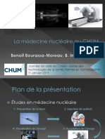 Visite Radio - Presentation Medecine Nucleaire
