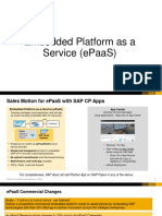 Embedded Platform as a Service (ePaaS)