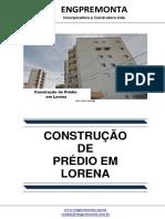 Construção de Prédio Em Lorena