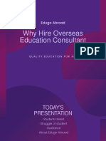 Why Hire An Overseas Education Consultant