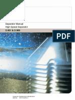 Separator Manual (S 861 & S 866)