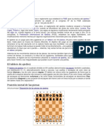 Leyes del ajedrez