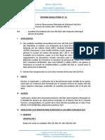 Informe final peritaje 2017 gestión de Oscar Vega ex presidente del Club Deportivo Municipal