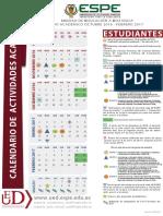 Calendario Academico Espe 2016-2017