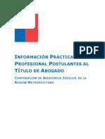 Información Práctica Profesional Postulantes_2018