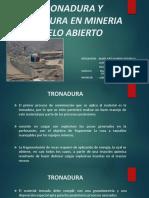 TRONADURA Y VOLADURA EN MINERIA CIELO ABIERTO