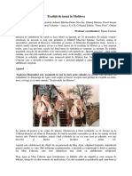 Traditii de iarna in Moldova