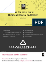 NAVTechDays2019 - Make the most out of Business Central on Docker