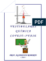 Vestibulares de Química - COVEST - 1ª Fase