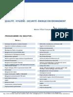 Programme_QHSE
