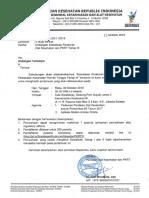 Undangan Sosialisasi Peraturan Alkes dan PKRT Tahap III