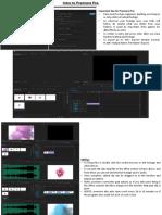 Intro to Premiere Pro.