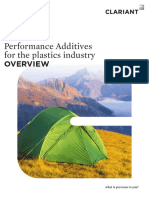 Clariant Brochure Performance Additives for the Plastics Industry 2019 EN
