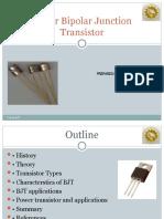Power Bipolar Junction Transistor