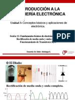 SESION 12 - diodo y transistor