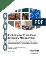 World Class Inventory Management