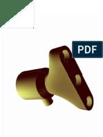 Corpo de válvula do misturador-3D