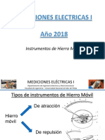 Mediciones Electricas I Hierro movil