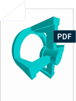 Carcaça de vávula 3D