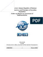 IOSCO objectives- Pakistan