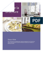 Cours art culinaire