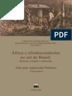 África e afrodescendentes no sul do Brasil