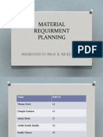 Material Requirment Planning-om