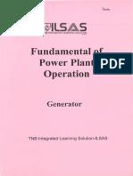 Fundamental of Power Plant Operation - Generator