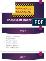 LEC 2 HAZARDS IN WORKPLACE