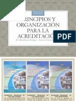 PRINCIPIOS Y ORGANIZACIÓN PARA LA ACREDITACIÓN