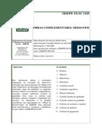 DER-PR 13/05 - Meios-fios