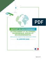 Rapport du Gouvernement - Suites Du Rapport HCC