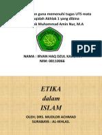 etika dan moral dalam islam