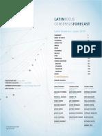 LatinFocus Consensus Forecast - June 2019