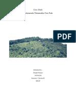 Saalumarada Thimmakka Tree Park - Case Study