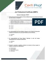Exam Scrum Master Professional Certificate (SMPC) 072017