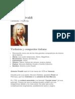 Biografía de Vivaldi