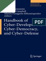 Handbook of Cyber-Development, Cyber-Democracy, and Cyber-Defense