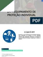 Higienização e Conservação dos EPIs