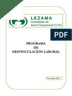 programa Desvinculación laboral