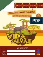 Invitaciones Vida salvaje - ECV 2020